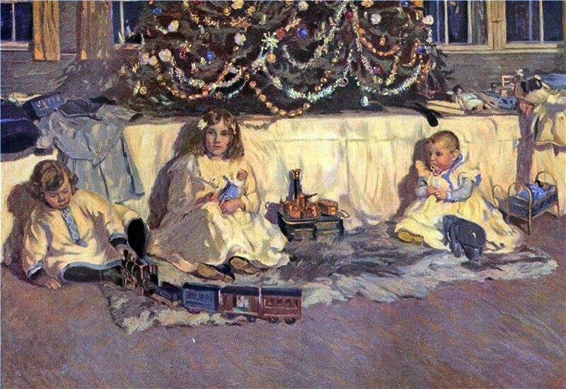 Роберт Вайзе (Robert Weise), «Магия Рождества», 1908 г.