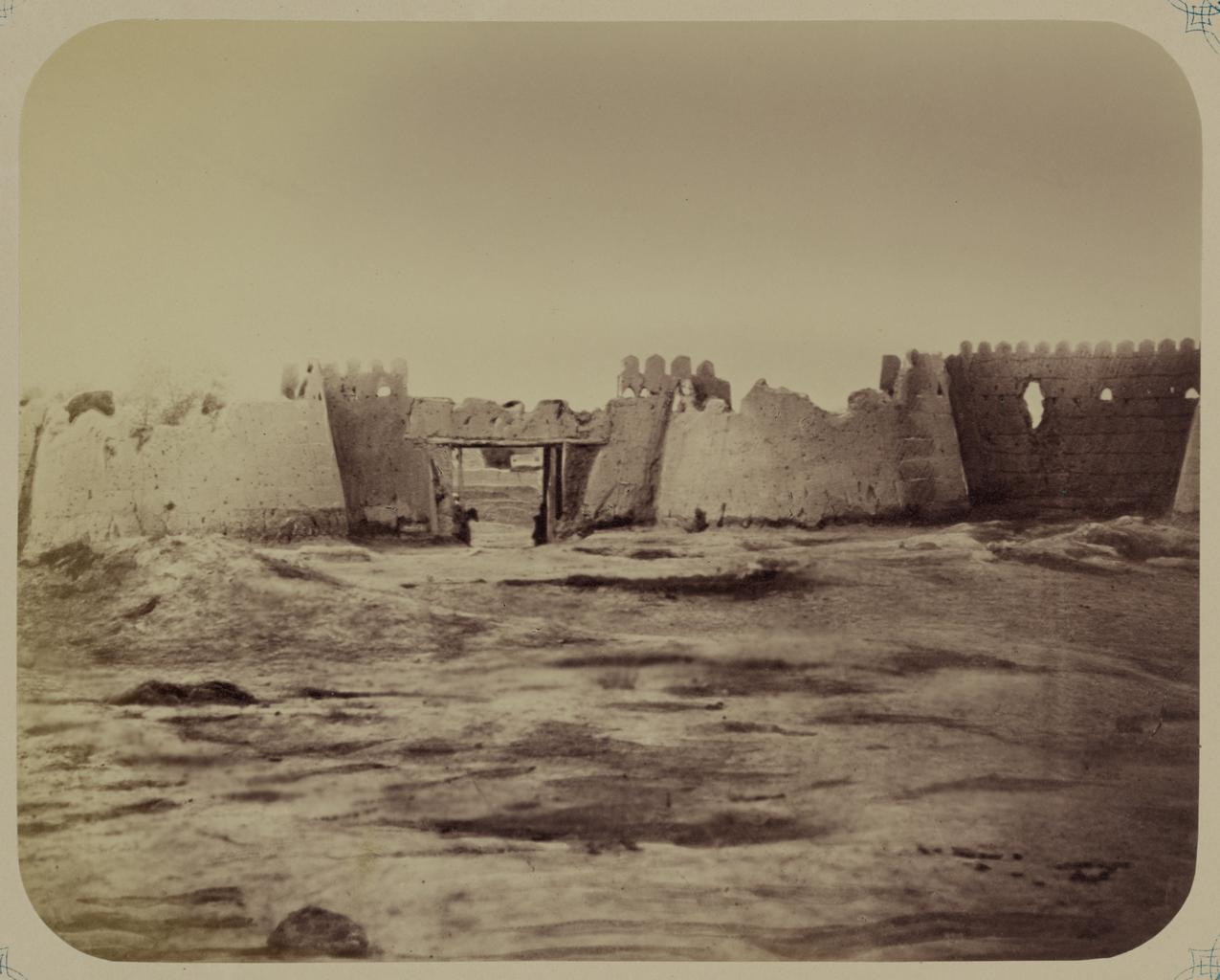 Раватлыкские ворота, место штурма 18 октября 1866