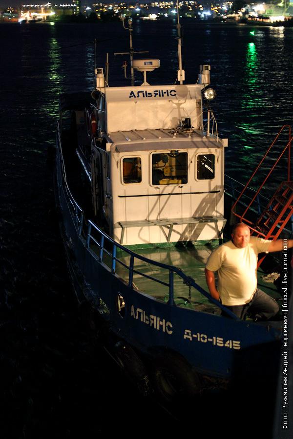 катер «Альянс» тип «Ярославец» Пойдет вместе с нами по Азовскому морю