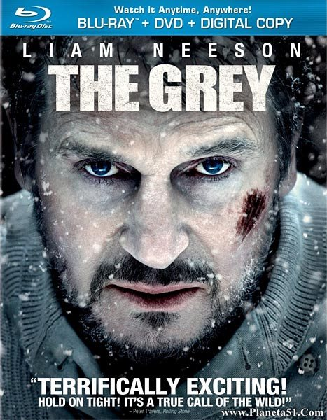 Схватка / The Grey (2011/HDRip/BDRip)