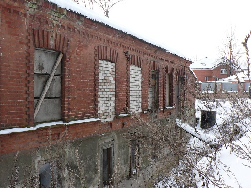 Дом Оглоблиной в Пскове (февраль 2009)