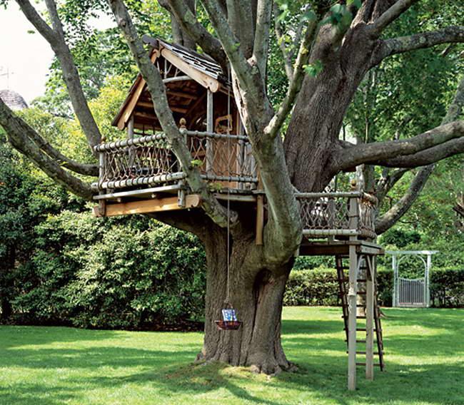 Как построить дом на дереве своими руками