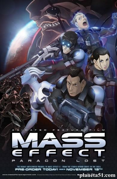 Mass Effect: Утерянный Парагон / Mass Effect: Paragon Lost (2012/HDRip)