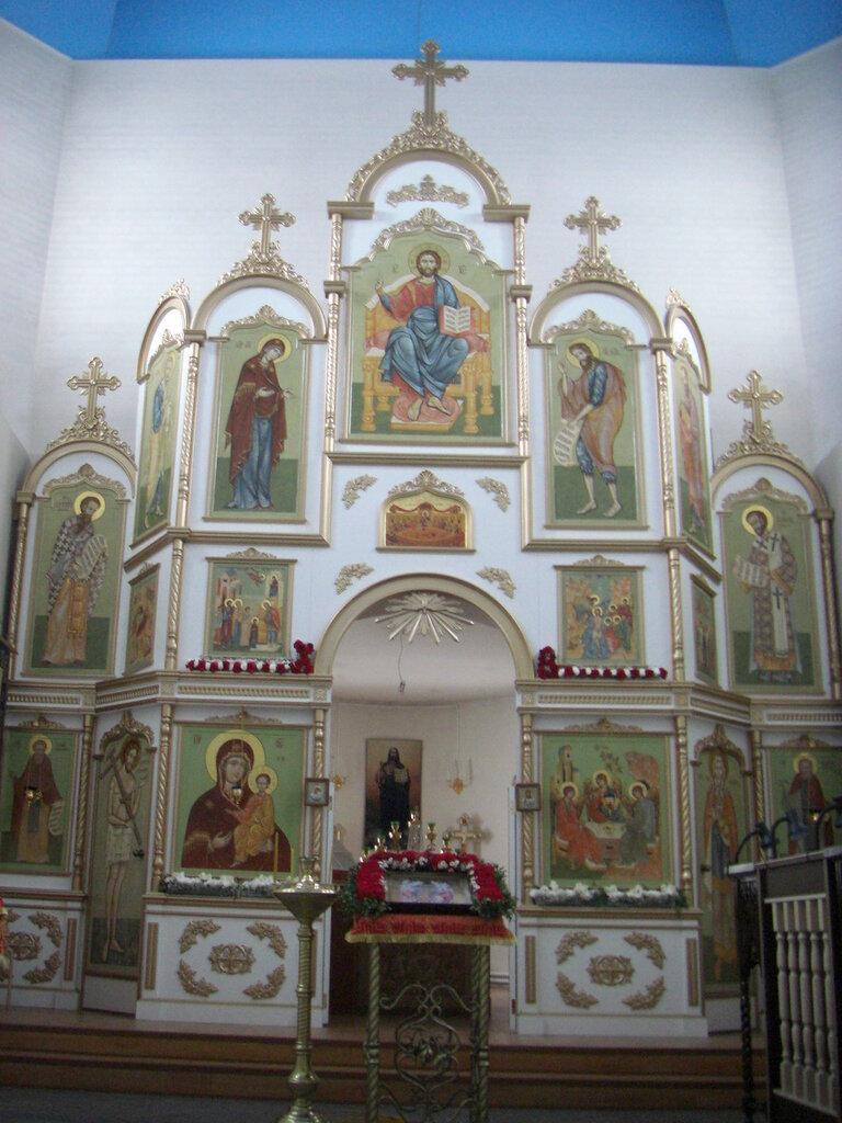 Иконостас церкви (26.04.2014)