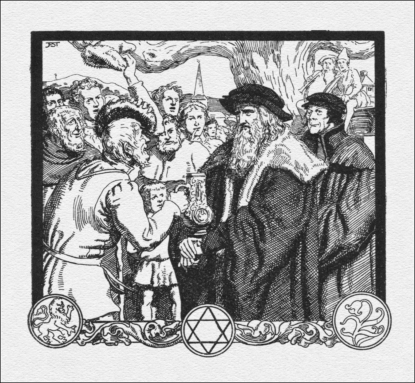 Franz Stassen, Faust.
