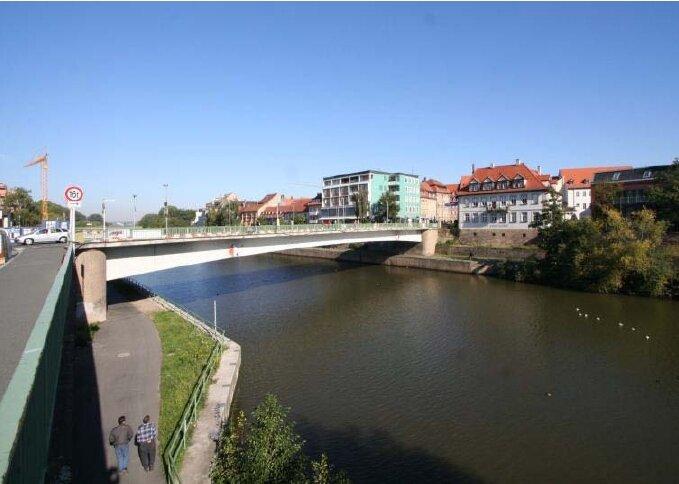 Bamberg. Ludwigsbrücke