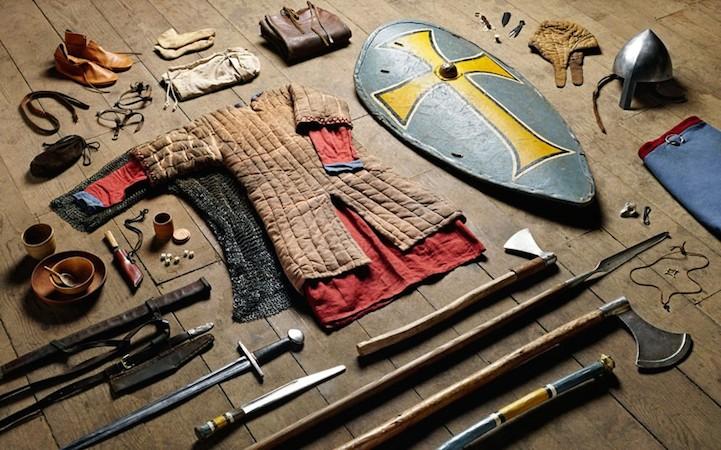 Комплект личного охранника короля в битве при Гастингсе, 1066 год.