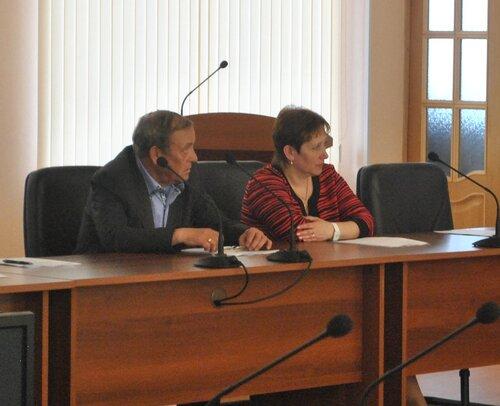 Сессия городского совета депутатов,