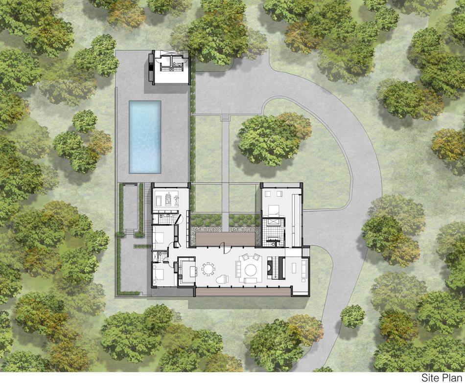 Эстетичный Canaan Residence в штате Коннектикут