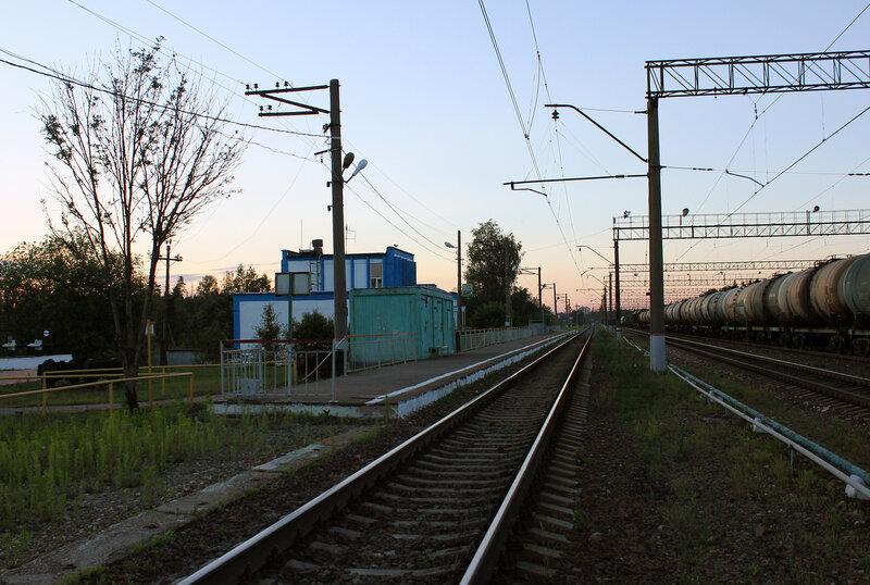 Платформа в Поварово-3