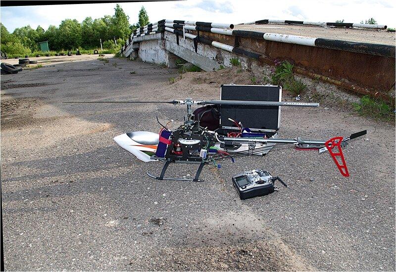 Тренировочные полёты радиоуправляемых моделей
