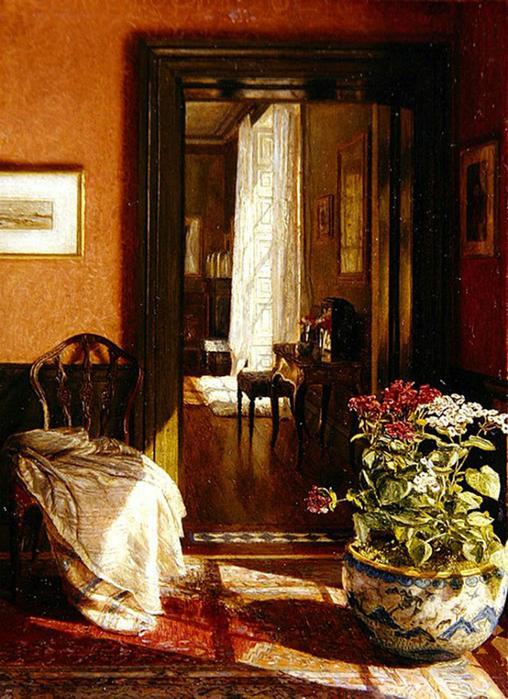 A Bit of Sunlight (1885), Mary Hayllar.jpg