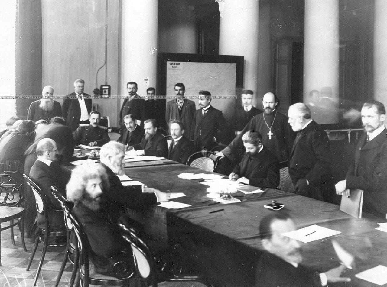 Заседание членов 4-го отдела по проверке полномочий