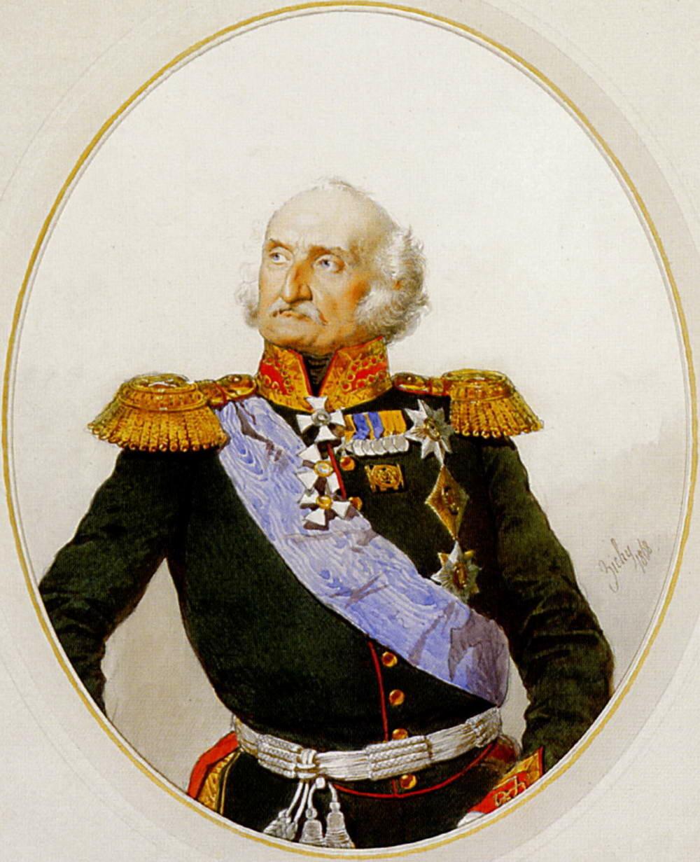 Портрет фельдмаршала графа П.Х.Витгенштейна.