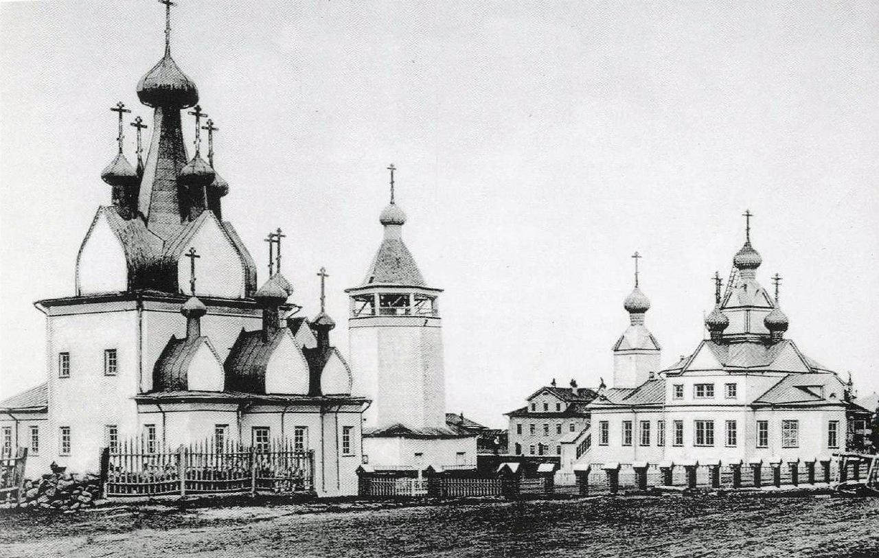 Богоявленский собор, церковь Рождества Богородицы и колокольня