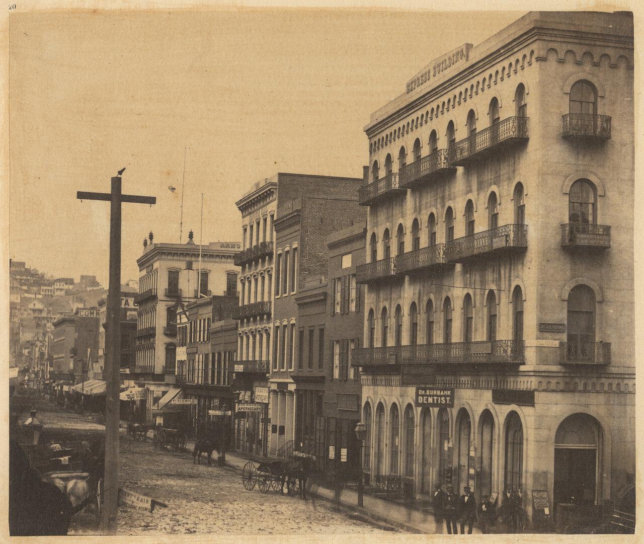 Восточная сторона Монтгомери-стрит