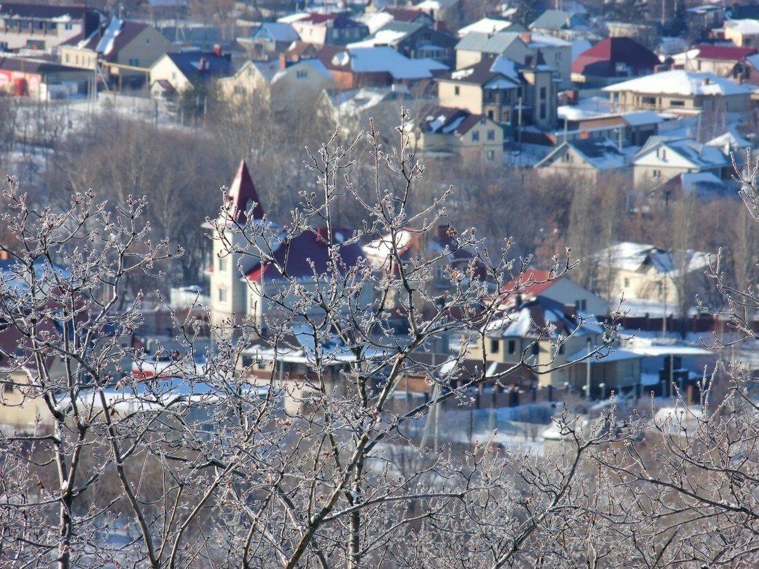Панорамы с Савельевских гор. Поливановка.