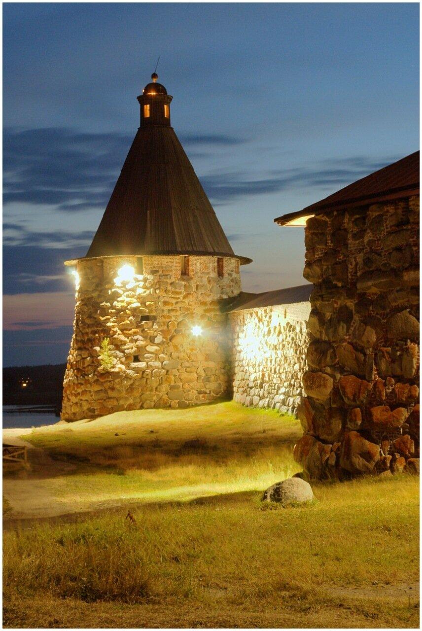 Башня Соловецкого монастыря