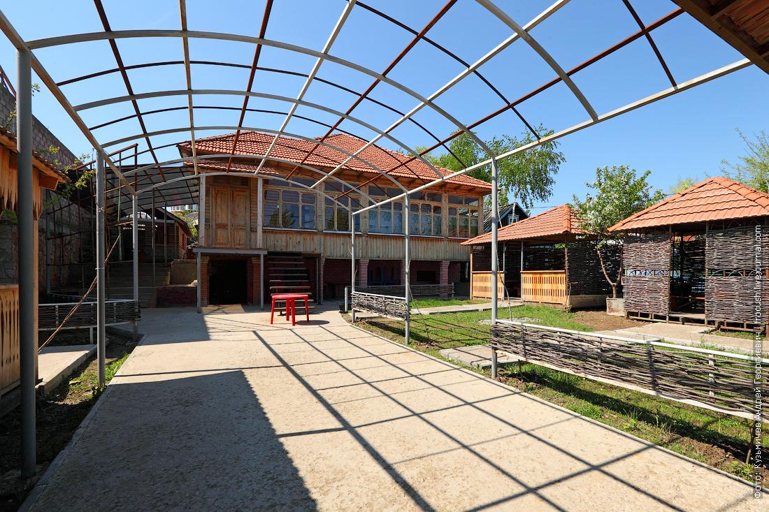 Грузинский дом национальная деревня народов Саратовской области