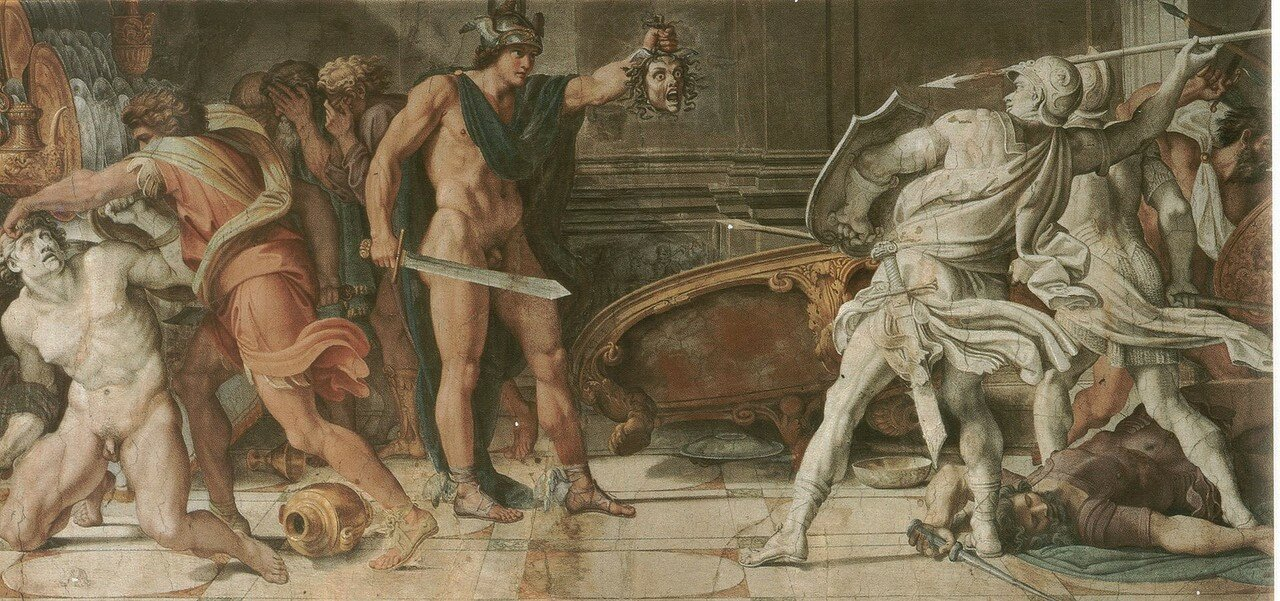 Perseus_and_Phineas_-_Annibale_Carracci_and_Domenichino_-_1597_-_Farnese_Gallery,_Rome.jpg