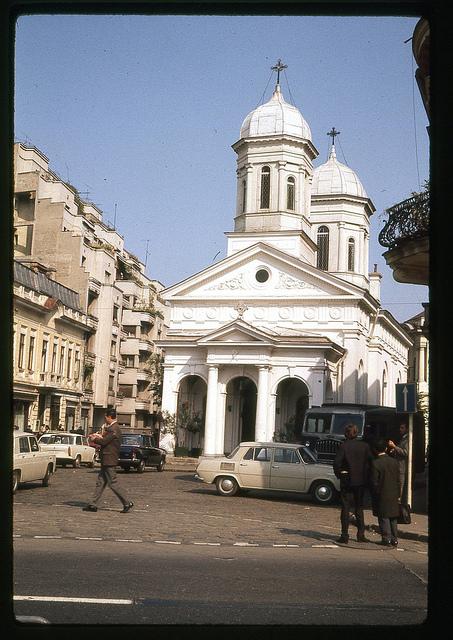 Oct 71 - 15 [Biserica Alba, Bucharest; orthodox church]