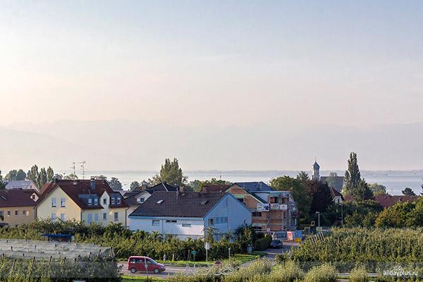 Вассербург, Бодензее, Германия.