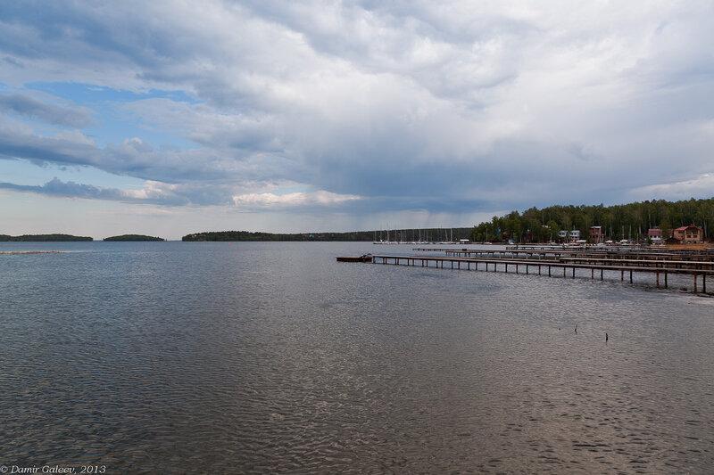 На озере Увильды