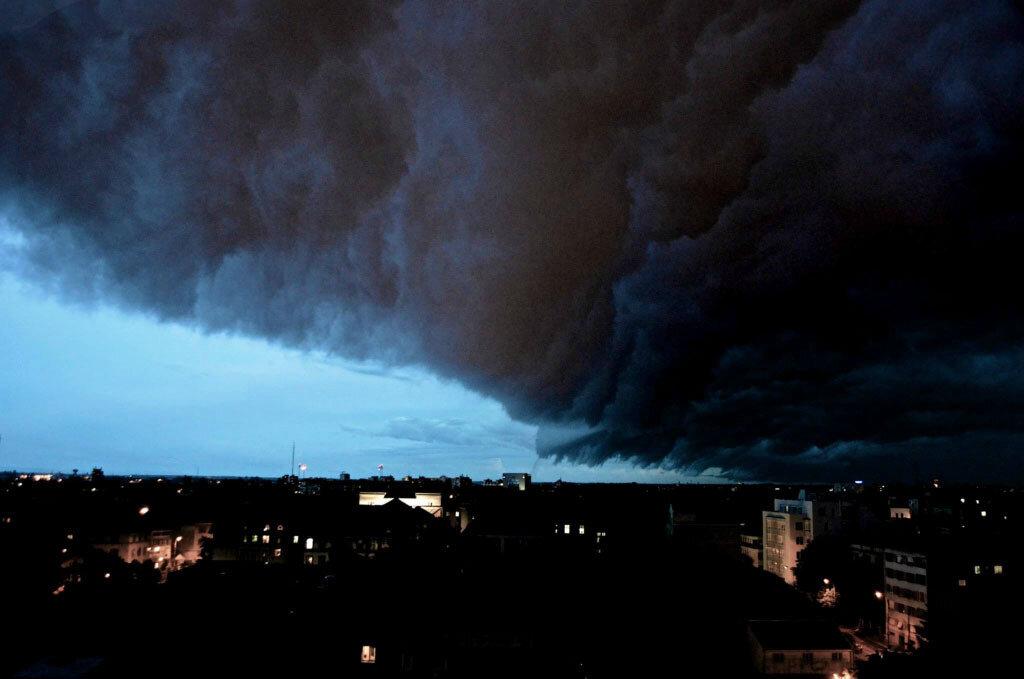 Буря в Румынии