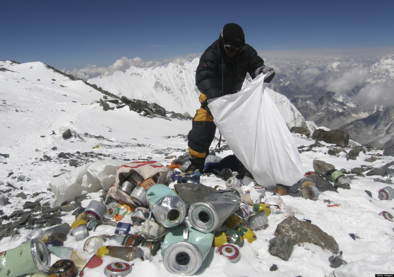 фото эверест вершина