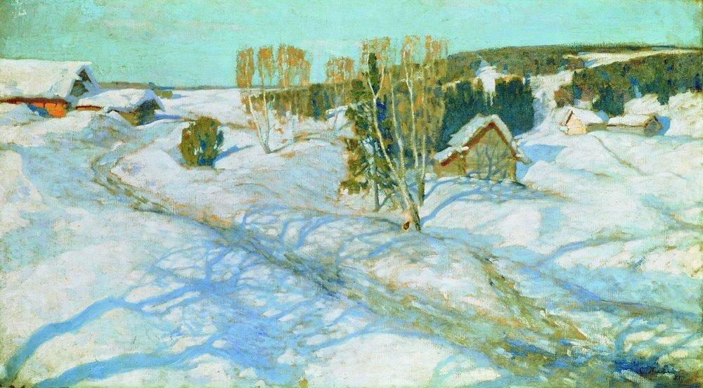 Синий снег. Весна. 1899.jpg
