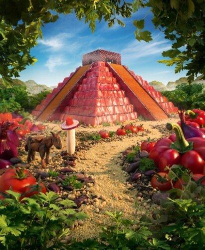 Карл Уорнер (Carl Warner): Пейзажи из еды и не только...Карл  Уорнер (Carl Warner): Пейзажи из еды и не только, Карл Уорнер, Carl Warner, пейзажи из еды,фото, фотохудожники, фото еды, реклама, реклама еды, постановочные фото, пейзажи, фото пейзажей, пейзаэи из овощей, пейзажи из продуктов, интересные фото, необычные пейзажи, фотографы,
