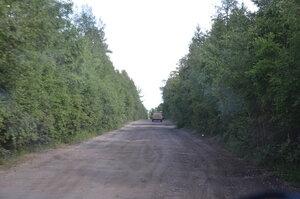 Дорога Тоора-Хем - озеро Азас