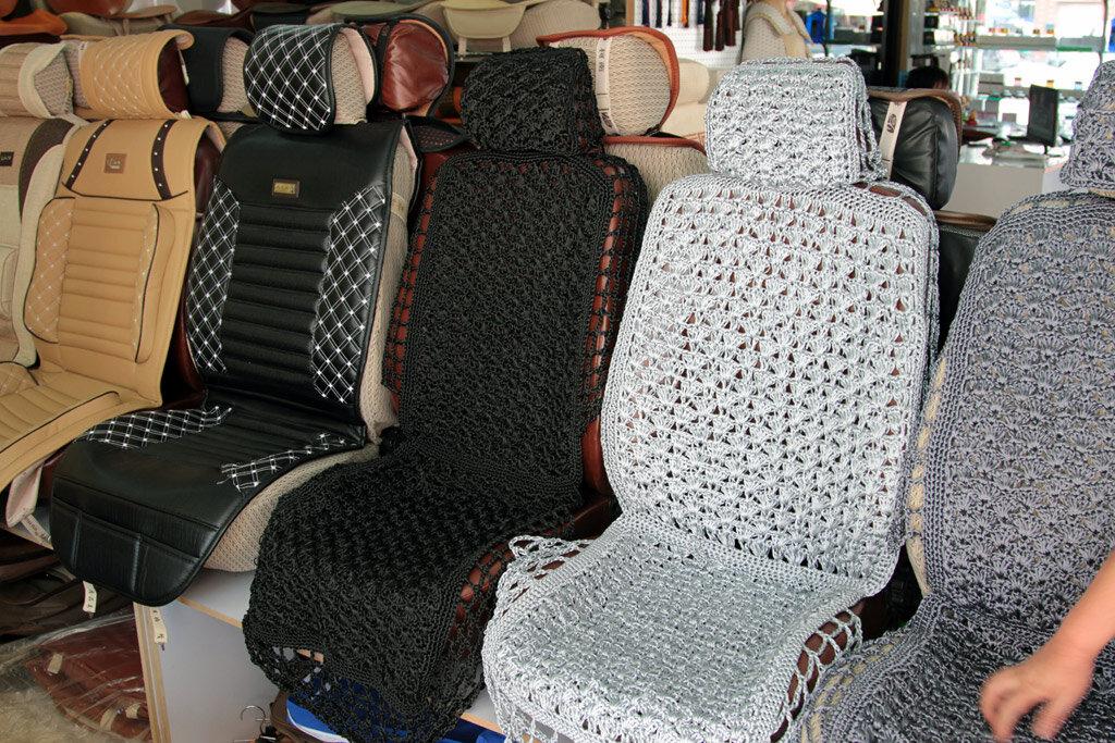 Накидки плетенные