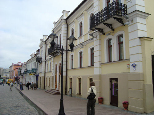 Отдых в Беларуссии: Гродно, улица Советская