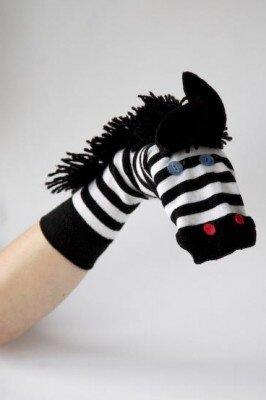 игрушки из носков фото