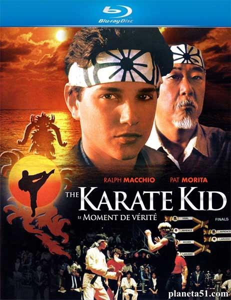 Малыш-каратист (Парень-каратист) / The Karate Kid / 1984 / ПМ, АП (Горчаков) / Blu-Ray Remux (1080p)