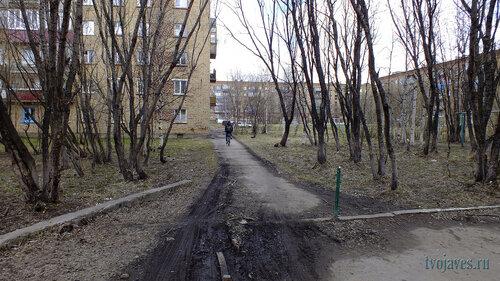 Фото города Инта №6744  Горького 15, Чернова 2 и Куратова 10 22.05.2014_14:21