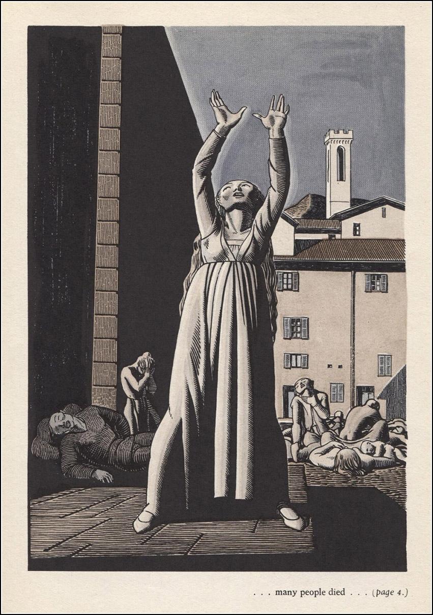 ROCKWELL KENT, Boccaccio, The Decameron