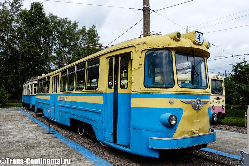 Музей трамваев в Нижнем Новгороде: Трамвай ЛМ-57