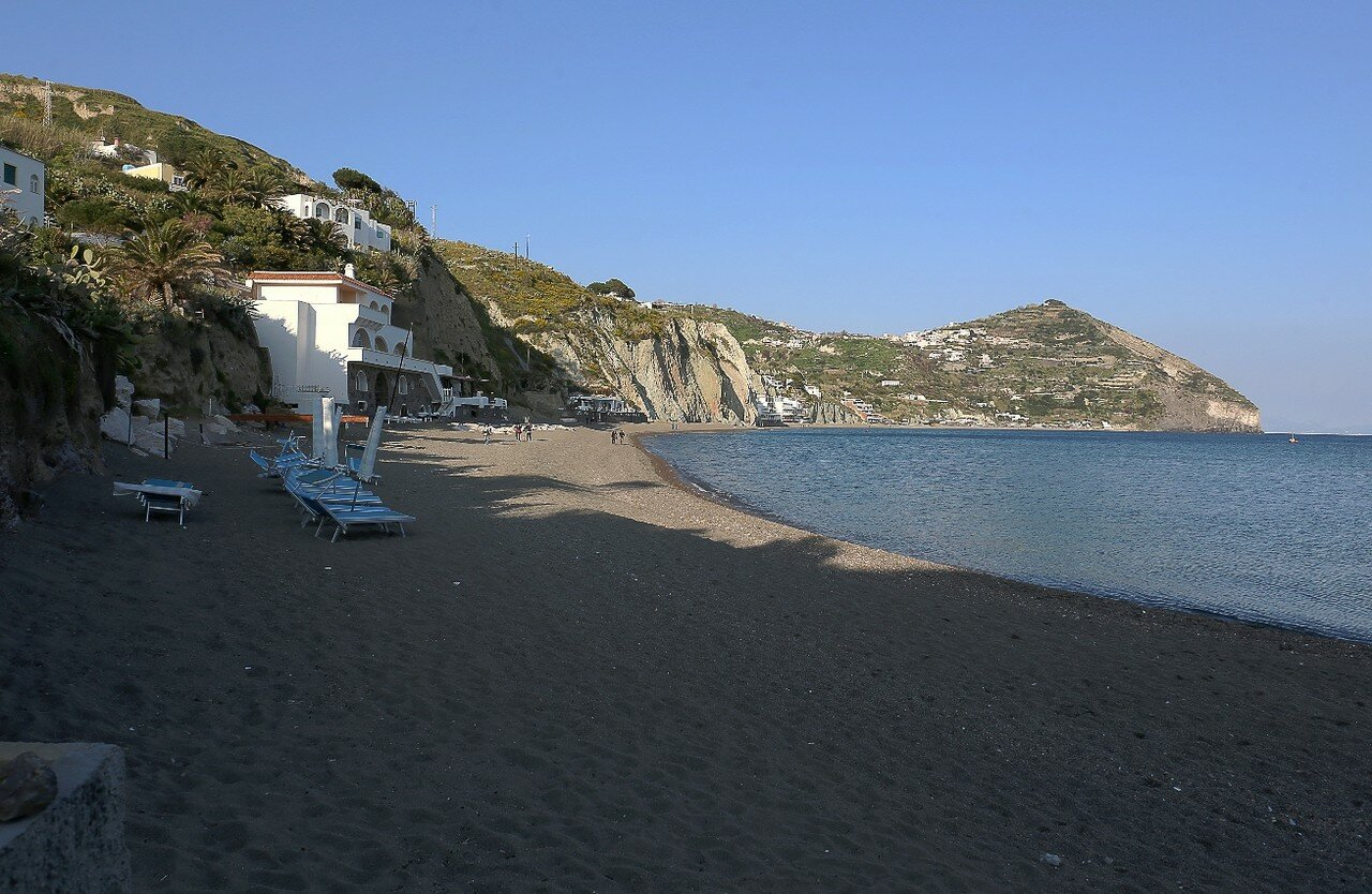Ischia. The Maronti beach