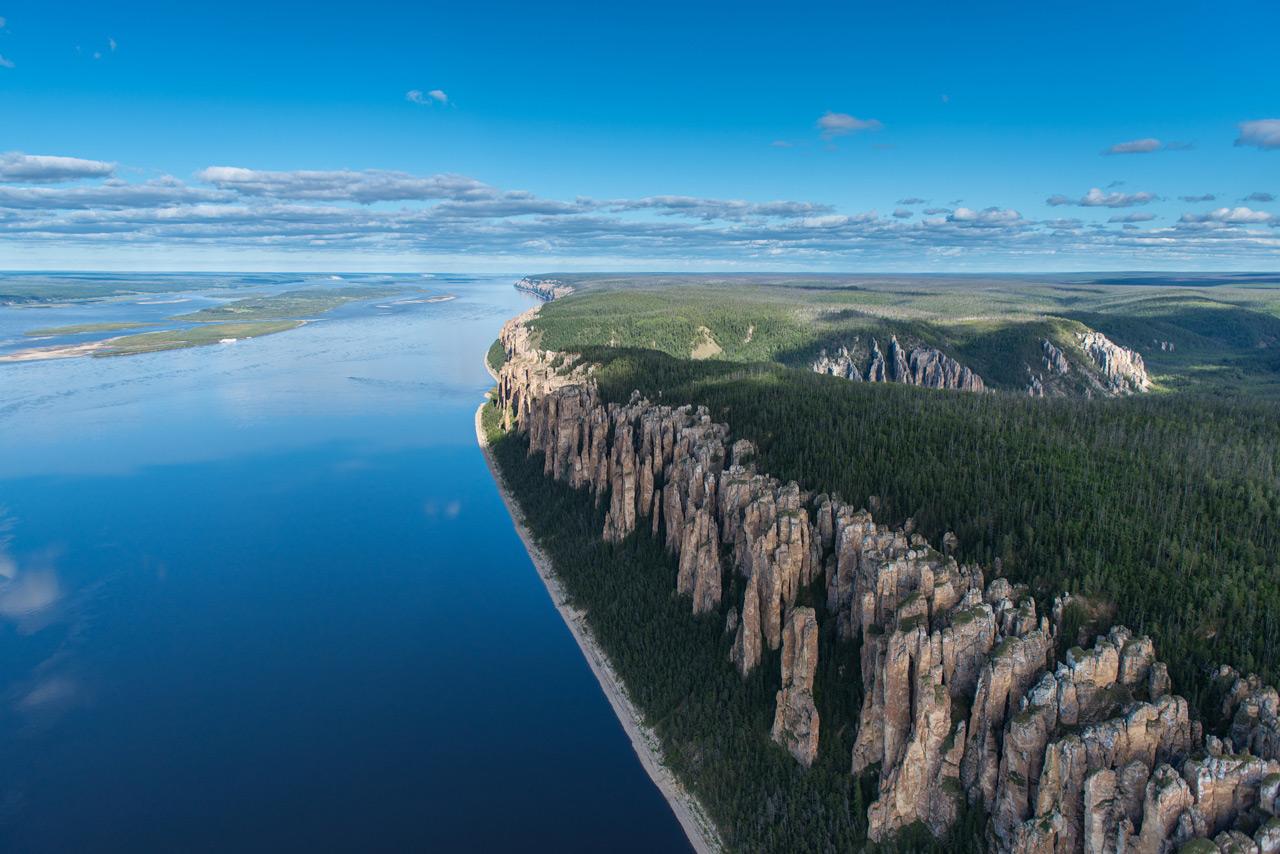 3 Канада, подумаете вы? Неправильный ответ. Ленские столбы в Якутии! (Фото: Eugene Kaspersky) Ленски