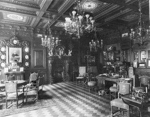 Кабинет в доме Г.Г.Елисеева.