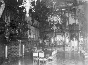 Вид стлового зала в готическом стиле. Особняк А.Ф.Кельха.