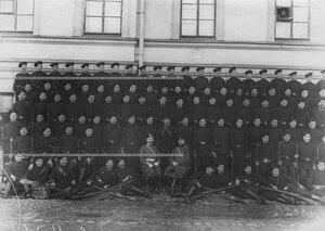 Личный состав 3-ой роты батальона .