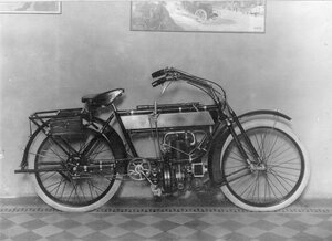 Общий вид мотоцикла.
