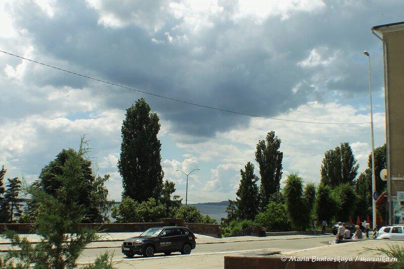 Небо над Набережной, Саратов, Набережная Космонавтов, 24 июня 2014 года