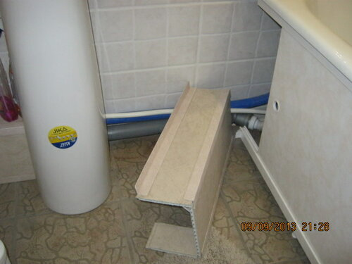 декоративный короб ванной