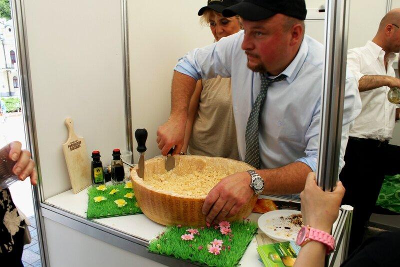 Дегустация итальянского сыра