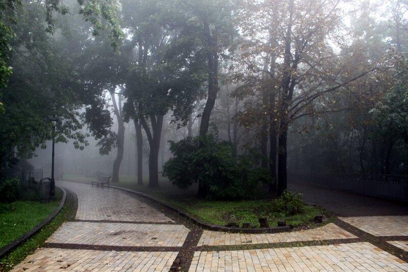 Хрещатый парк в сентябре
