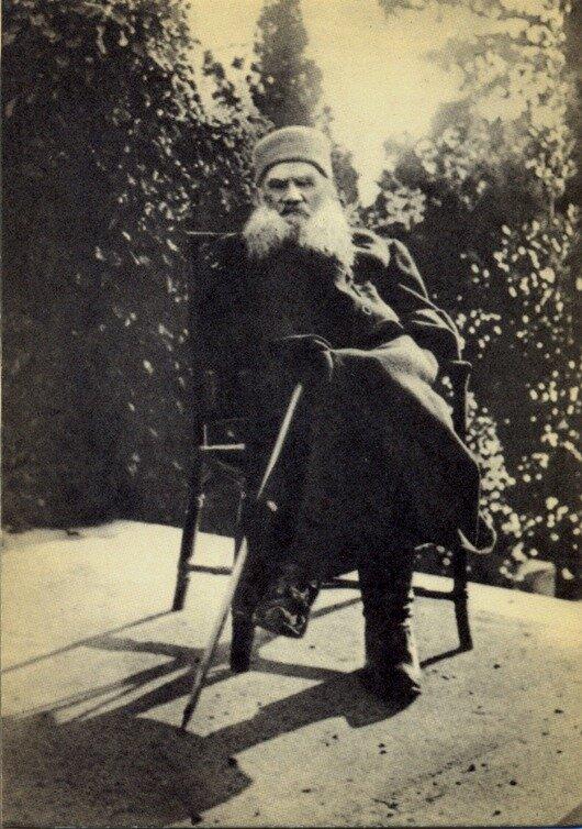 1901 год, Крым. Фото С.А.Толстой.